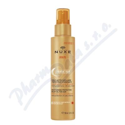 NUXE SUN Hydratační mléčný olej na vlasy 100 ml