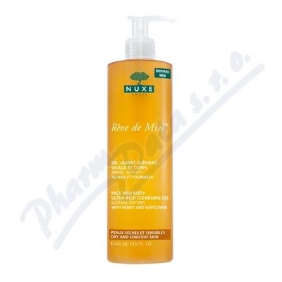 NUXE Zvláčňující sprch.gel na obličej a tělo 400ml