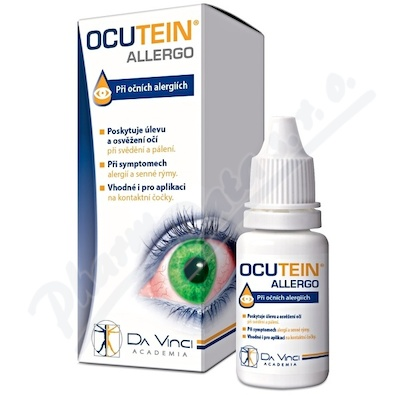 Ocutein ALLERGO oční kapky 15ml DaVinciAcademia