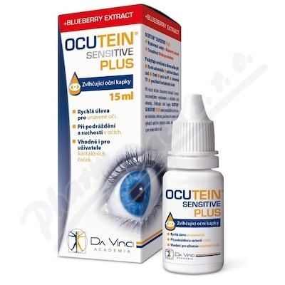 Ocutein Sensitive Plus oční kapky DaVinci 15ml
