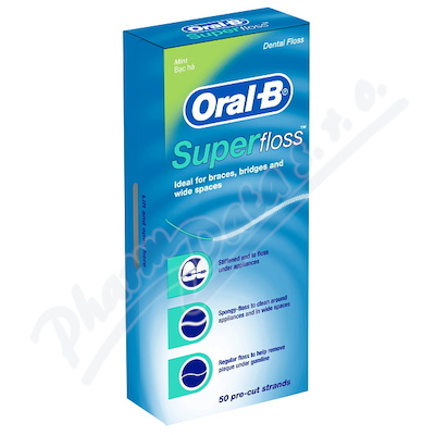 Oral-B dent.nit SuperFloss 1ks