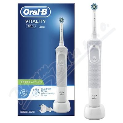 Oral-B El.kart. Vitality D100 White