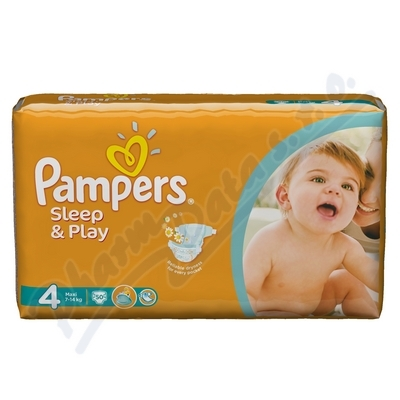 PAMPERS Sleep&Play Maxi 52ks