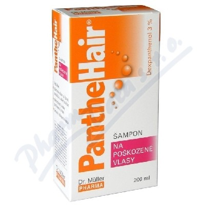 Panthehair šampon na poškoz.vlasy 200ml Dr.Mller