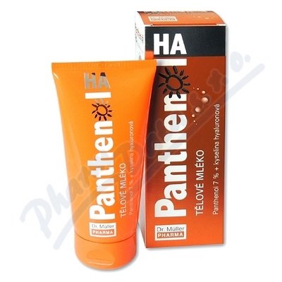 Panthenol HA tělové mléko 7% 200ml Dr.Müller - tělová mléka,oleje,krémy,másla,