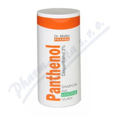 Panthenol šampon na mastné vlasy 250ml (Dr.Mller)