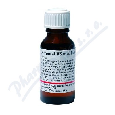 PARODONTAL F5 STM LIQ 1X20ML