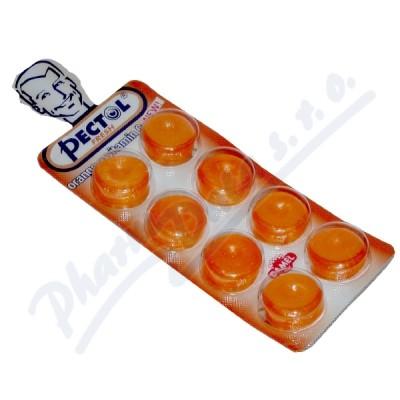 Pectol pomerančový drops s vit.C blistr