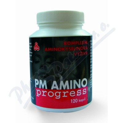 PM AMINOprogress 120 kapslí