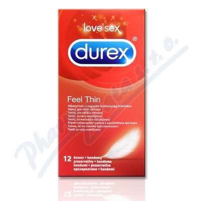 Prezertativ Durex Feel Thin 12ks