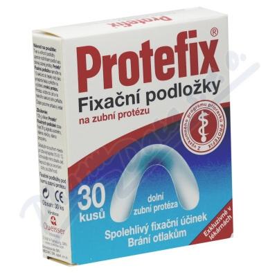 Protefix Fixační podložky dolní zub.protéza 30ks