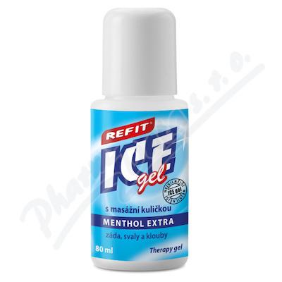 Refit Ice gel roll-on Menthol 2.5% na záda 80ml