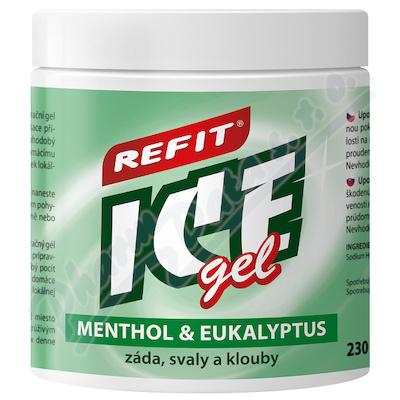 Masážní a osvěž.Refit Ice gel 220ml ment.+eukal.