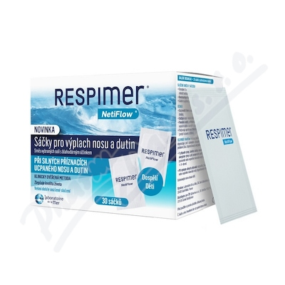 RESPIMER - sáčky pro výplach nosu a dutin 30 ks