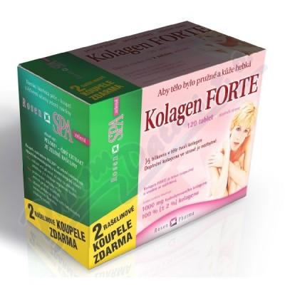Kolagen Forte tbl.120+2 RosenSpa zel.koupel.zdarma