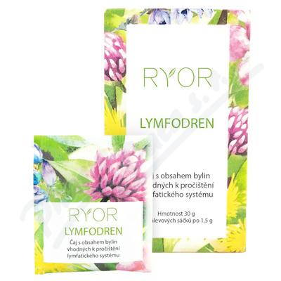 RYOR Lymfodren bylinny caj 20x1.5g