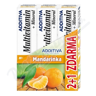 Sada Additiva MM 2+1 mandarinka šumivé tbl.3x20ks
