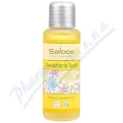 SALOOS Tělový a masážní olej Devatero kvítí 50ml