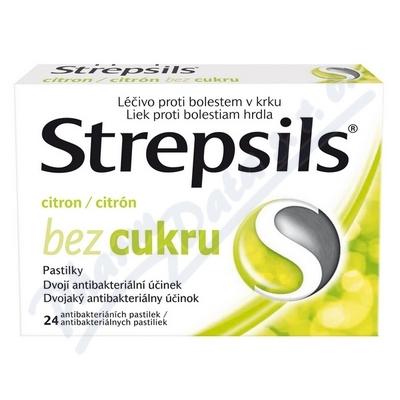 STREPSILS CITRON BEZ CUKRU
