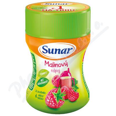 Sunar rozpustný nápoj malinový 200g