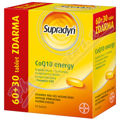 Supradyn CO Q10 Energy tbl.60+30 nový