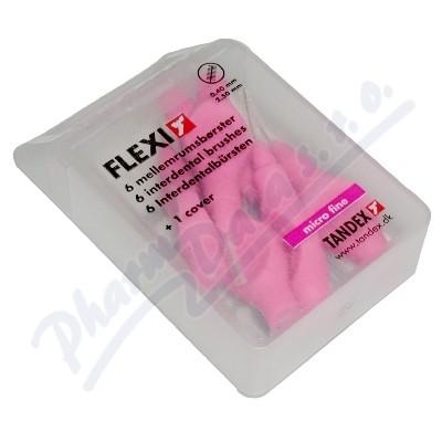 TANDEX Flexi mezizub.kart.0.4 růžové TA819071 6ks