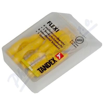 TANDEX mezi.kart. Flexi 0.7 mm žlu. 6ks TA819075