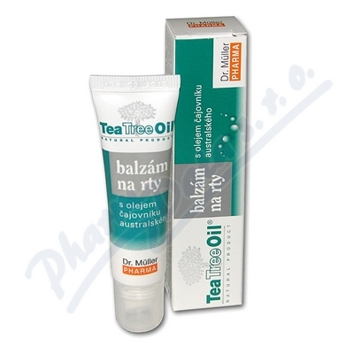 Tea Tree Oil balzám na rty 10ml Dr.Mller