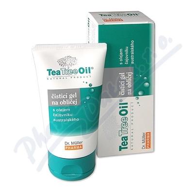 Tea Tree Oil čisticí gel na oblič.150ml(Dr.Mller)