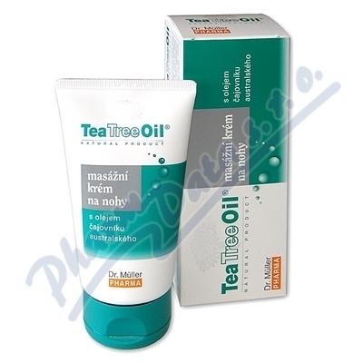 Tea Tree Oil masážní krém na nohy 150ml(Dr.Mller)