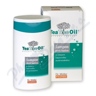 Tea Tree Oil šampon proti lupům 200ml (Dr.Mller)