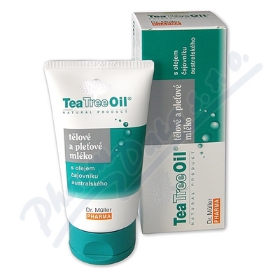 Tea Tree Oil tělové a pleť.mléko 150ml (Dr.Mller)