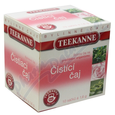 TEEKANNE Čistící čaj n.s. 10x1.6g
