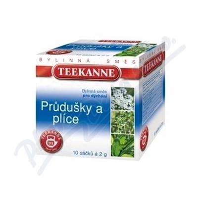 TEEKANNE Kašel a průdušky bylinný čaj 10x2g