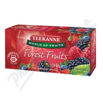 TEEKANNE WOF Forest Fruit 20x2.5g n.s.(lesní plody