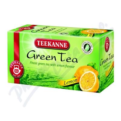 TEEKANNE Zelený čaj citrón 20x1.75g nálev.sáč.