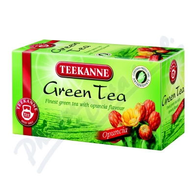 TEEKANNE Zelený čaj kaktus 20x1.75g nálev.sáč.