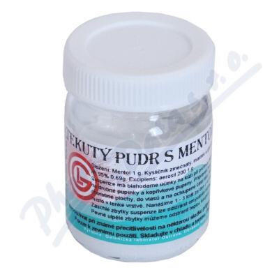 Tekutý pudr s mentolem