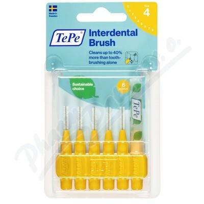 TePe mezizub.kartáčky žluté extra soft 0.7mm 6ks 117650