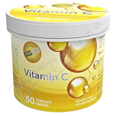 TOPVET Vitamín C 600mg tob.50