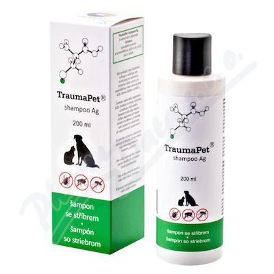 TraumaPet šampon s Ag 200ml - Veterinární přípravky a potřeby pro vaše mazlíčky.