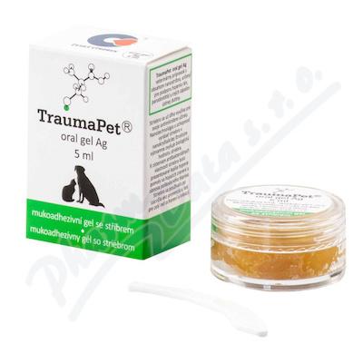 TraumaPet zubní gel s Ag 5ml - Veterinární přípravky a potřeby pro vaše mazlíčky.