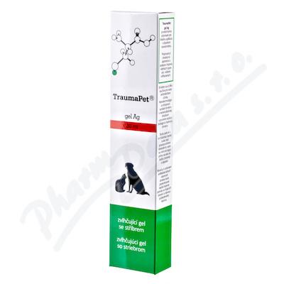 TraumaPet zvlhčující gel s Ag 30ml - veterinární přípravky se stříbrem