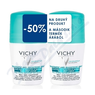 VICHY DEO roll-on DUO Anti traces 14 VCZ90847
