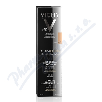 VICHY DERMABLEND 3D make-up č.45 30ml - make-upy,make-up,