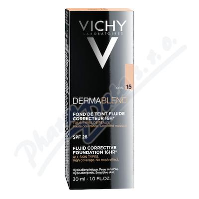 VICHY Dermablend Korekční make-up 15 30ml R11 - make-upy,make-up,