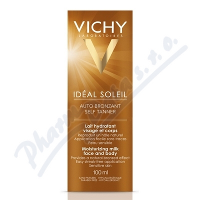 VICHY CAP.SOL. Autobronzant mléko 100ml 17203675