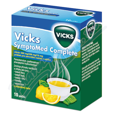 VICKS SYMPTOMED COMPLETE CITRÓN