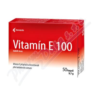 Vitamín E 100mg cps.50