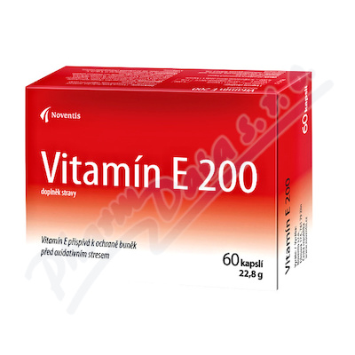 Vitamín E 200 cps.